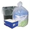 Ultra Plus High Density Can Liners, 16gal, .315mil, 24 x 33, Natural, 200/Carton