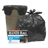 Handi-Bag Super Value Pack Trash Bags, 30gal, .65mil, 30 x 33, Black, 60/Box