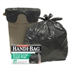 Handi-Bag Super Value Pack Trash Bags, 33gal, .65mil, 32.5 x 40, Black, 40/Box