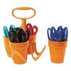 "Scissors, 5"" Length, 1 3/5"" Cut, Classpack, Pointed Tip, Assorted"