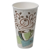 Hot Cups, Paper, 20oz, Coffee Dreams Design, 25/Pack