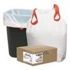 Draw 'n Tie Heavy-Duty Trash Bags, 13gal, .9mil, 24.5 x 27 3/8, White, 200/Box