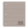 Subject Wirebound Notebook, College/Margin Rule, 11 x 8 7/8, White, 80 Sheets