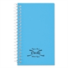 Wirebound Memo Book, Narrow Rule, 5 x 3, White, 60 Sheets