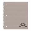 National Subject Wirebound Notebook, College/Margin Rule, 11 x 8 7/8, White, 100 Sheets