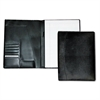 Buxton Men's Classic Pad Folio/Writing Pad, 8 1/2 x 11, Black, Each