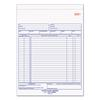 Rediform Purchase Order Book, 8 1/2 x 11, Letter, Two-Part Carbonless, 50 Sets/Book