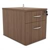 Alera Alera Sedina Series Hanging Box/File Pedestal, 15 3/8w x 22d x 19h Modern Walnut