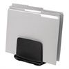 I-Spire Series File Station, 3 Sections, 7 11/16 x 5 1/2 x 6 13/16, Black