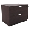 Alera Alera Valencia Series Two Drawer Lateral File, 34w x 22 3/4d x 29 1/2h, Espresso