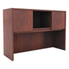 Alera Valencia Series Hutch with Doors, 47w x 15d x 35 1/2h, Medium Cherry