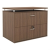Alera Alera Sedina Series Two Drawer Lateral File,34 1/4w x 22d x 29 1/2h, Mod Walnut