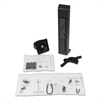 WorkFit-T and WorkFit-PD Conversion Kit, Single LD Monitor Kit, Black
