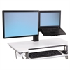 WorkFit-T and WorkFit-PD Conversion Kit, LCD & Laptop Kit, Black