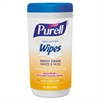 PURELL Hand Sanitizing Wipes, 5.7 x 7 1/2, Fresh Citrus Scent, 40/Canister, 6/Crtn