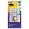 "Post-it Tabs Value Pack, 1"" and 2"", Assorted Primary Colors, 114/PK"