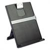 Fold-Flat Freestanding Desktop Copyholder, Plastic, 150 Sheet Capacity, Black