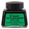 Pilot Jumbo Marker Refill Ink, For Permanent Markers, 1 oz Ink Bottle, Black