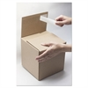 Self-Sealing Shipping Boxes, 6l x 6w x 4h, Brown Kraft, 8/Carton