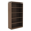 Alera Alera Sedina Series Bookcase, Five-Shelf, 36w x 15d x 72h, Modern Walnut