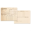 Employee Record Jackets, 11 3/4 x 9 1/2, 11 Point Manila, 100/Box