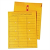 Brown Kraft String & Button Box Style Interoffice Envelope, 10 x 13, 100/Box