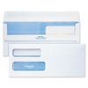 2-Window Redi-Seal Security-Tinted Envelope, #10, 4 1/8 x 9 1/2, White, 500/Box