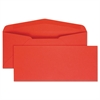 Quality Park Colored Envelope, #10, Red, 25/Pack