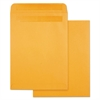 High Bulk Self Sealing Envelopes, 10 x 13, Kraft, 100 per Box