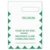 TOPS CMS-1500 Claim Form Self-Seal Window Envelope, 9 x 12 1/2, WE, 500/Carton