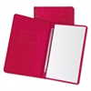 "Pressboard Report Cover, 2 Prong Fastener, Letter, 3"" Capacity, Executive Red"