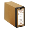 "COLUMBIA Recycled Binding Cases, 3 1/8"" Cap, 11 x 8 1/2, Kraft"
