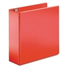 "SuperStrength Locking Slant-D Ring Binder, 4"" Cap, 11 x 8 1/2, Red"