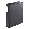 "SuperLife Easy Open Locking Slant-D Ring Binder, 2"" Cap, 11 x 8 1/2, Black"