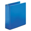 "SuperStrength Locking Slant-D Ring Binder, 3"" Cap, 11 x 8 1/2, Blue"