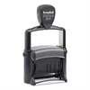 Trodat Trodat Professional 12-Message Stamp, Dater, Self-Inking, 2 1/4 x 3/8, Black