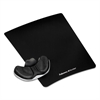 Memory Foam Gliding Palm Support w/Mouse Pad, Black