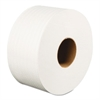 "Jumbo Roll Bathroom Tissue, 2-Ply, White, 3.2"" x 525 ft, 12 Rolls/Carton"