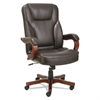 Transitional Series Executive Wood Chair, Chocolate Marble