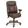 Alera Veon Series Leather MidBack Manager's Chair w/Coil Spring Cushioning,Brown