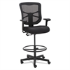Elusion Series Mesh Stool, Black