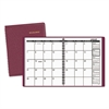 AT-A-GLANCE Monthly Planner, 6 7/8 x 8 3/4, Winestone, 2017