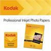 Professional Inkjet Photo Paper, Glossy, 10.9 mil, 8 1/2 x 11, White, 50 Shts/PK