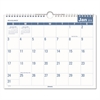 Easy-to-Read Monthly Wall Calendar, 15 x 12, Easy-to-Read, 2017