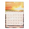 AT-A-GLANCE Scenic Monthly Wall Calendar, 12 x 17, 2017