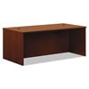 basyx BL Laminate Series Rectangular Desk Shell, 72w x 36w x 29h, Medium Cherry