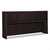 basyx Laminate Hutch With Four Doors, 72w x 14 5/8d x 37 1/8h, Mahogany