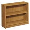 1870 Series Bookcase, Two Shelf, 36w x 11 1/2d x 29 7/8h, Harvest