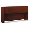 basyx Laminate Hutch With Four Doors, 72w x 14 5/8d x 37 1/8h, Medium Cherry