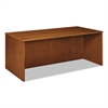 basyx BW Veneer Series Rectangular Desk Shell, 72w x 36w x 29h, Bourbon Cherry